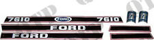 4483 Ford New Holland Decal Ford 7610 Force 2 Red & Black - PACK OF 1