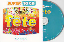 CD CARTONNE CARDSLEEVE FETE DISCO 15T GAYNOR/HOUSTON/ZAGER BAND/CHARLES/WHITE