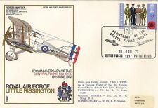 LETTRE AVIATION ROYAL AIR FORCE LITTLE RISSINGTON 1972