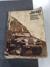 Jeep Technical Service Manual 1982 Body Chassis CJ-5 CJ-7 Cherokee Wagon Truck