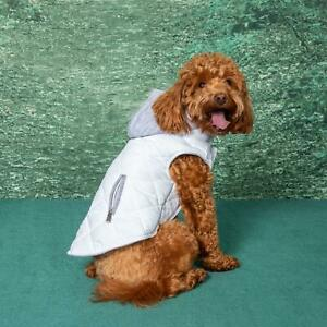Doggie Design Weekender Dog Sweatshirt Hoodie - White