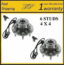 2007-2011 Chevrolet Tahoe (4WD) Front Wheel Hub Bearing Assembly 4x4  (PAIR)