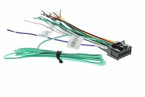 NEW16 PIN WIRE HARNESS PLUG FOR PIONEER AVH-X4700BS AVHX4700BS  *SHIPS TODAY*
