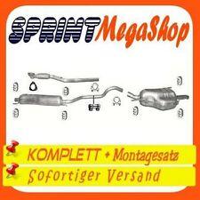 Auspuff OPEL ZAFIRA A 1.8 125PS 2000-2003 Rohr Auspuffanlage A67