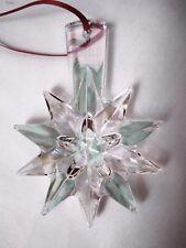 Baccarat Christmas Ornament Iridescent Crystal Star Snowflake Noel Year 2013 NIB