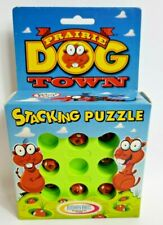 Prairie Dog Town Stacking Puzzle in Original Box With Instructions Vintage 1997
