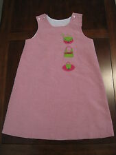 The Bailey Boys Girl Pink Check Purse Lined Jumper Shift Dress Size 5 EUC