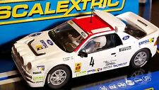 SCALEXTRIC Slot Car 1:32 FORD RS 200 NEW Digital Plug Ready LIGHTS White