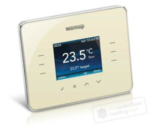 Warmup - 3IE programmable thermostat for underfloor heating