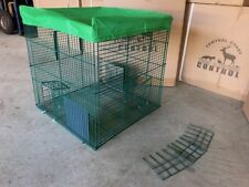 Myna Magic humane cage trap by CCD&VC Australia. Money back guarantee.