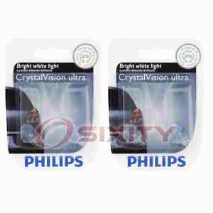 2 pc Philips Front Parking Light Bulbs for Nissan March NT400 Cabstar ls