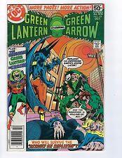 Green Lantern co starring Green Arrow # 109 Vf (Oct 1978)