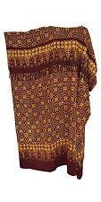 Cool Kaftans BN MADURA Purple Batik Kaftan Caftan Ladies Abstract Long Plus Size