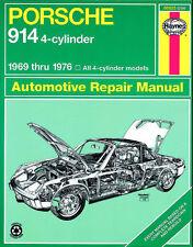 Reparaturhandbuch Porsche 914 1969, 1970, 1971, 1972, 1973, 1974, 1975 & 1976