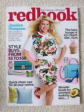 Redbook Magazine February 2014 Jessica Simpson The Taco Burger & Ice Cream Diet
