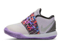 New NIKE Kyrie 5 TD Toddler Baby Shoes AQ2459-001 Atosphere Grey Size 6C