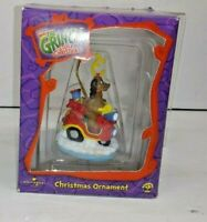 2 UNIVERSAL SIDESHOW HOW THE GRINCH STOLE CHRISTMAS TREE ORNAMENTS #31002