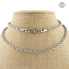Rope Chain Stainless Steel Necklace 55cm length