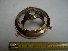 1 griffe laiton poli  57 mm trou 11 mm abat jour collerette (réf L)