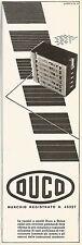 W2567 Vernici e smalti Duco e Dulox - Pubblicità 1938 - Old advertising