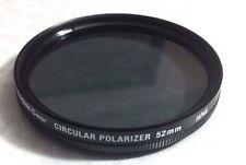 52mm CIRCULAR POLARIZER CIR PL Lens Glass FILTER CPL 52 mm Japan Kodak C-PL P-CL