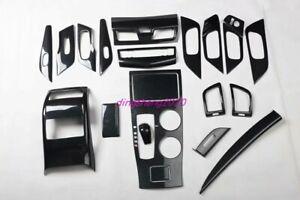 20PCS Carbon Fiber Car Interior kit Cover Trim For Nissan Teana Altima 2013-2018