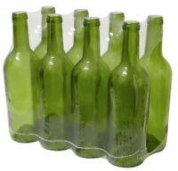 24 X 750ml WINE BOTTLE GLASS BORDEAUX HOMEBREW WINE MAKING + 24 CORK