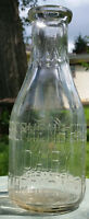 STEPHEN'S BROS DAIRY Quart Milk Bottle; ca 1940s; CARBONDALE, PA; (TREQ)