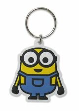 MINIONS MOVIE BOB RUBBER KEYRING NEW OFFICIAL MERCHANDISE