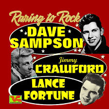 DAVE SAMPSON / JIMMY CRAWFORD / LANCE FORTUNE CD Raring To Rock