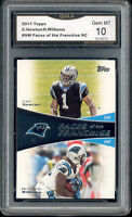2011 Cam Newton Topps Faces of the Franchise rookie gem mint 10 #NW
