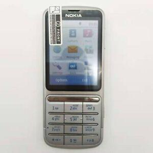 """Nokia C3-01 Original mobile phones 2.4"""" 3G 5MP Camera 1050mAh WIFI Bluetooth"""