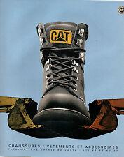 Publicité 1995 CAT CATERPILLAR chaussure vetement accessoire collection mode