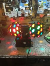 Skytec Lytequest Spinning rock Balls vintage light disco dj club effect pin-spot