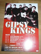 GYPSY KINGS (UK Concert Tour Flyer 2006)