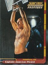 Star Trek TNG The Next Generation Profiles: 82 Card Basic/Base Set - Skybox 2000