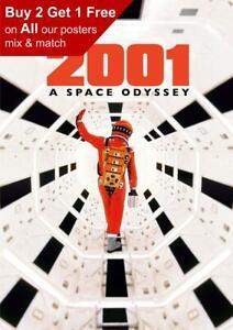 2001 A Space Odyssey 1968 Teaser Poster A5 A4 A3 A2 A1