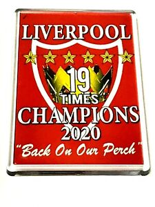 Liverpool Magnets Champions 2019 2020 Gifts Novelty's