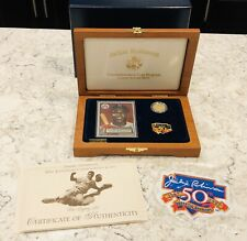 1997 W $5 Jackie Robinson 50th Anniversary Gold Commemorative Proof Legacy Set