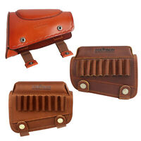 Tourbon Leather Cheek Piece Rest Comb Risers Rifle Shotgun Stock 2 Style Options