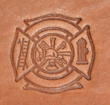 New 2017 Fire Fighter Craftool 3-D Stamp Tandy Leather 8596-00