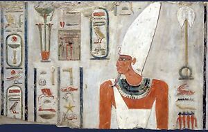 EGYPT ANCIENT  PYRAMID pharaohs  photo landscape A0 CANVAS PRINT  Egyptian