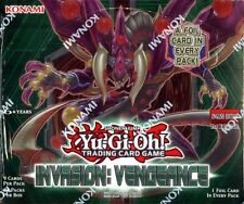 YUGIOH INVASION VENGANCE 1ST EDITION BOOSTER 12 BOX CASE BLOWOUT CARDS