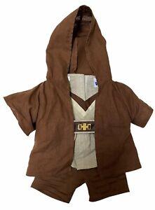 Build-A-Bear Workshop Star Wars Jedi Robe Obi-wan Kenobi Outfit 4 Piece Used