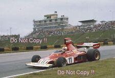 Clay Regazzoni Ferrari 312 B3 Brazilian Grand Prix 1975 Photograph