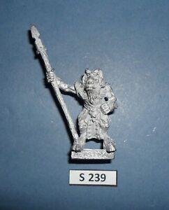 Warhammer Citadel Metal CHAOS BEASTMAN SPEAR 1991 CATALOGUE S 234