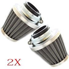 2x 35mm Air Filter Cleaner For 50cc -125cc PZ19 CARB Dirt Bike ATV Go karts ATV