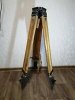 Vintage Wooden Tripod  USSR Soviet for Theodolite Nivelir Camera 1976 year