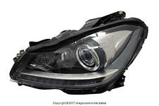 Mercedes C250 C300 C350 C63 AMG (2008-2015) Headlight Assembly (Bi-Xenon) LEFT