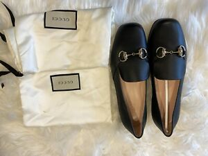 NWT BLACK GUCCI PRINCETOWN HORSEBIT LEATHER LOAFERS